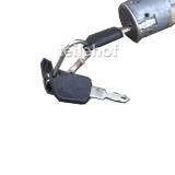 Zündschloß mit 2 Schlüssel für Peugeot 306